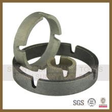 Segmento de la forma de la corona del diamante para el taladro de la base