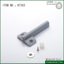 Gabinete de móveis de plástico empurrar ajustável para abrir montagem pequena