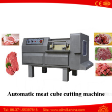 Commercial Pork Beef Cube Cutting Frozen Fresh Meat Dicer Machine