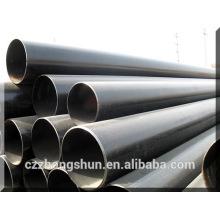 Traitement de surface d'huile en gros tube à galvanisation à tube calibre 12 galvanisé