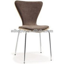 HY2018 high quality comfortable living room fabric chair / dining chair / plywood cushion chair