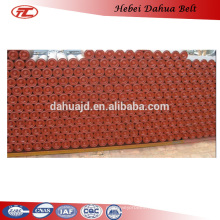 Industry use rubber conveyor carbon steel roller