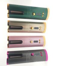 Rotations-USB-Lade-Glatteisen-LCD-Lockenwickler
