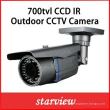 700tvl Impermeable Zoom IR CCTV Bullet Seguridad Cámara CCD