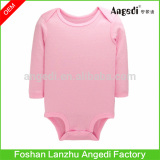 Baby clothing Babies solid color bodysuit 100% organic cotton Baby romper