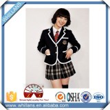 New fashion cotton high school uniform designs