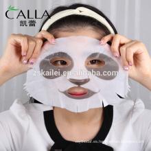 Nuevos Productos Beauty OEM 3D Real Animal Hidratante Máscara Facial
