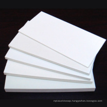 white rigid celuka PVC foam board and PVC sheet for cabinet furniture material