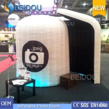 Foto Casamento Booth Frame Enclosure Shell Boleto Foto Inflável Portátil