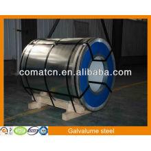 Aluzinc AZ100g/m2, aço Galvalume, planta de China