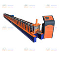 china products slide channel truck and metal stud shutter door slat frame roll forming machine line former