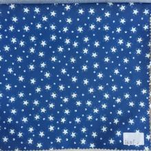 Star And Eye Blue/White Printed Lining
