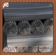 wire mesh belts for frozen food, heating food and other machinery parts conveyor