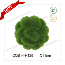 D11cm Mini Artificial Flower Christmas Ball Glass Craft