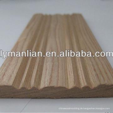 dekorative Möbelformung aus Holz