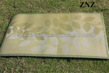 Washable Woven PVC Carpet Outdoor Rugs Recycled Plastic Reversable