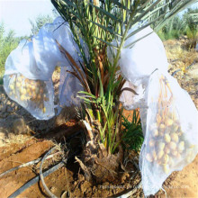 Bolsa de malha de data uv branco com fita mágica para palmeira