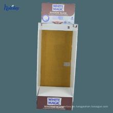Stehende Papphänger-Produkt-Gestell-Anzeige, Postkarten-Präsentationsständer mit Haken