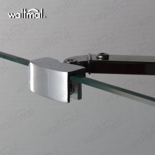 Rectangalar Shape Hinge Open Shower Glass Door