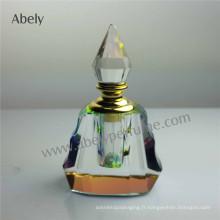 Bouteilles de parfum en verre pour huile de parfum