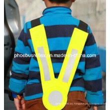V en forma de chaleco de seguridad de los niños