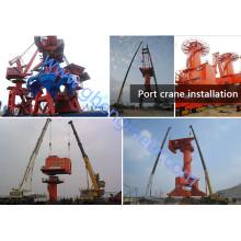 Shipyard Port Portal Crane guindaste doca