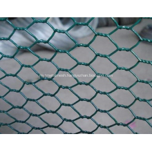 Hexagonal wire netting normal twist