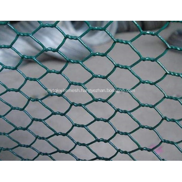 Hexagonal wire netting normal twist