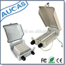 Распределительная коробка для телефонного настенного монтажа для телекоммуникационного проекта / dp box для модуля крона или заводского оконечного блока stb