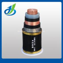 Cable de alimentación eléctrica con aislamiento de XLPE con cinta de acero 6KV