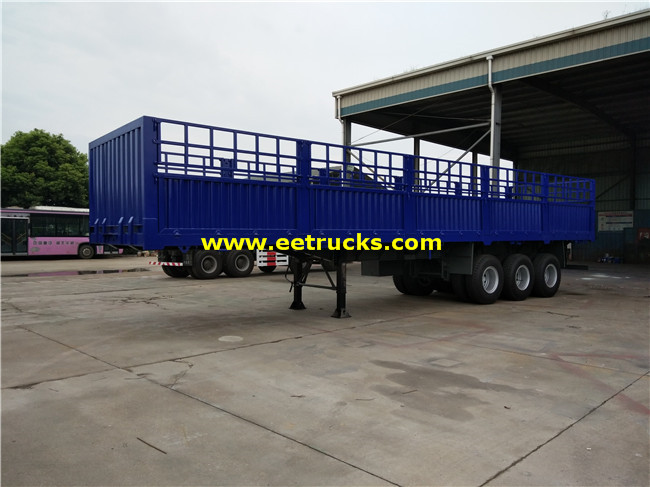 40 Ton Box Van Semi Trailers