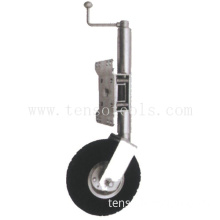 "Round Trailer Jacks -Jockey Wheel -Top Wind- 10"" lift-500 lbs"
