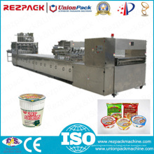 Машина для укупорки / упаковки / запайки чашек для быстрого приготовления лапши (серия RZW-10)