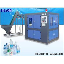 2-cavidad 1.5L automático botellas de Pet soplado máquina Hb-A2000