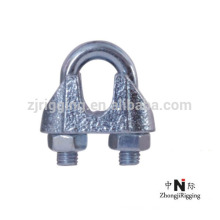 Wire rope clip with TYPE JIS TYPE B fasteners