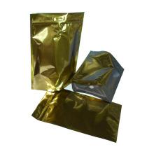 Saco de café de alumínio com fundo plano e válvula / saco de plástico de café