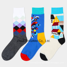 Professional Custom Kids Boys Cotton Soft Supply OEM Logo Socks