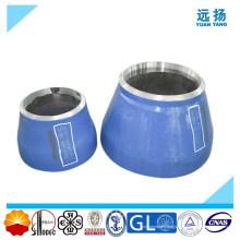 Réducteur en acier inoxydable en fer forgé haute qualité