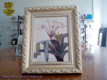 Solid and Beautiful High Polymer Plastics Photo Frame (SP14001)