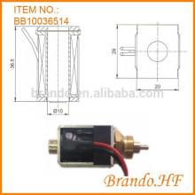 Empurre o solenóide de empurrar para empurrar e puxar solenóide de válvula de 12v ou 24v
