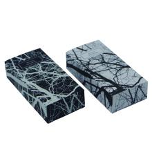 Cajas de papel de patrón especial para productos para el cuidado de la piel