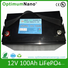 Batería de iones de litio 12V 100ah para Camp Caravan
