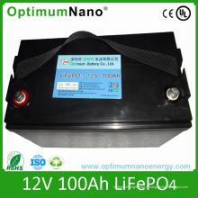 Batterie Lithium Ion 12V 100ah pour Caravane Camp