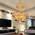 Modern gold luxury crystal chandelier for hotel decoration