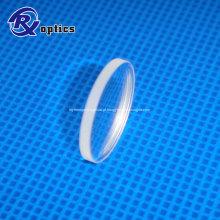 Lente cilíndrica óptica CaF2 de grau IR para colimação