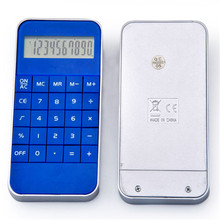 10 digit button battery calculator mobile phone calculator