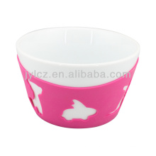 silicone pudding bowl