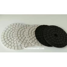 Natural Stone On Flat Surface Hot Selling Granit Polish Pads 125 Mm High Quality Durable Concrete Polishing Pad Rf80