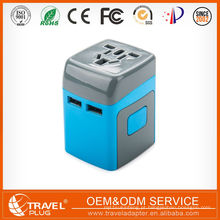 AU UK US universal travel Multi Wall Sockets Switches Power cube Power Plug 5V, 2.1A