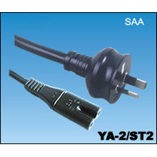 Australian SAA Power Cords with Connector